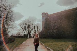 Grossesse rempart de Laon